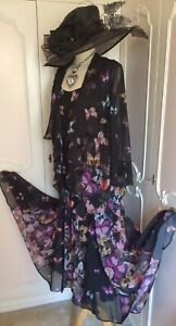 CHESCA Skirt Top Jacket Suit Wedding Mother of the Bride PLUS Size 24 26  XXXXL