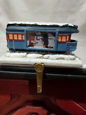 The Polar Express Train Car Photo Christmas Stocking Holder, Ln Hallmark