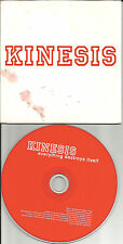 KINESIS Everything Destroys Itself 3 UNRELEASED CARD SLEEVE CD single USA Seller