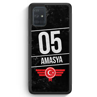 Amasya 05 Silikon Hülle für Samsung Galaxy A71 Motiv Design Türkei Türkiye Tü...