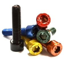 M6 GWR Colourfast® Cap Head Screws - A2 Stainless Steel - Coloured Socket Bolts