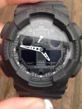 Casio G SHOCK Military Black Analog Digital Watch GA100 Tactical *needs Battery*