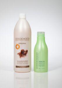 COCOCHOCO Brazilian Keratin Hair Treatment 1000ml + Free sulphate Shampoo 400ml