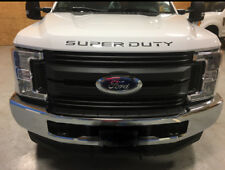 2017-2018-FORD-F250-f350-f450-f550-Hood-BLACKOUT DECAL SUPER DUTY INSERTS