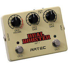 ARTEC - DBT-1 Dual Booster Pedal (two individual boosters in one case)