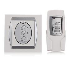 3-Way Digital Wireless Remote Control Light Lamp ON/OFF Switch