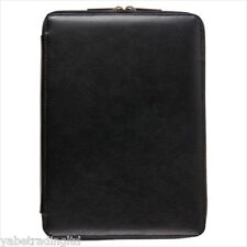 Exe1001aw13 Universal Leather Zip Case for 10 Inch Tablets - Black a