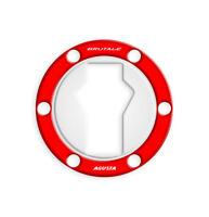 FUEL CAP PROTEZIONE TAPPO BENZINA MV AGUSTA BRUTALE / DRAGSTER GP-510(M) (Red)