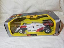 Burago 1/24 Scale Model Car B27E - F1 McLaren MP4/2 Turbo - #1 Prost