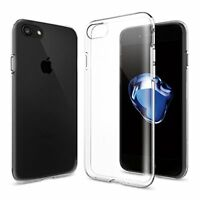 iPhone 8 PLUS Transparent Case Crystal Clear Soft Thin Flexible TPU Cover