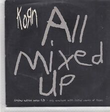 Korn-All Mixed Up Promo cd maxi single 5 tracks