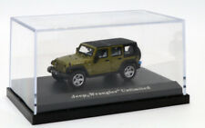 bc Atlas Masterpiece Jeep Wrangler Rubicon Black/Metallic Green   1/87 HO