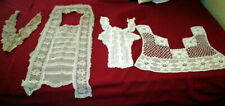 Lot antique Lace and crochet collars -Germany 1890
