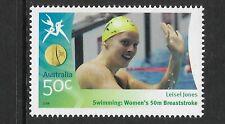 AUSTRALIA 2006 COMMONWEALTH GAMES SWIMMING Leisel Jones 50m Breaststroke 1v MNH