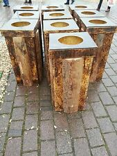 "Holz - Mülleimer ""neu mit Deckel"""