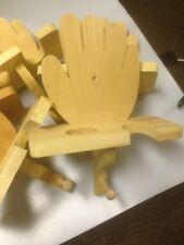 Wooden Glove Shaped Baseball, Bat, Glove & Cap Holder / Rack