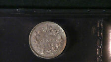 Canada,canadian 1892 5 cents ef-40 Scatches observation iccs graded