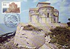 2352+ FDC CARTE 1er  JOUR SAINTONGE  ROMANE