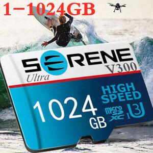 Micro 256GB 512GB 1TB Mikrokarte TF-Flash-Speicherkarte Klasse10 U3 Kamerahandy