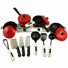 13pcs/Set Pots and Pans Kitchen Ware Pretend Cooking Children Kids  Play Toys