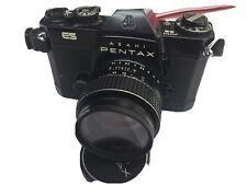 Asahi Pentax ES 35mm SLR Film Camera With Takumar F1: 1.4/50 Lens