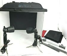 """Square Perfect 16"""" Studio In a Box Light Tent Cube for Quality Photography Carry"""