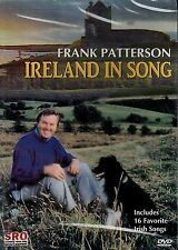 NEW DVD - IRELAND IN SONG - FRANK PATTERSON - 16 TRACKS - STEREO - SPECIAL