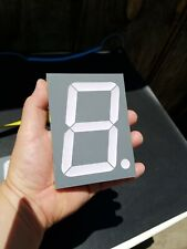 6 large 4 inches 7 segment tri-color led display for arduino raspberry pi clocks