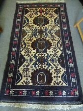 Beautiful Large Woven Wool Woolen fringed Rug Zekani Asian Hand Knotted