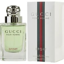Gucci Sport Pour Homme Eau de Toilette Spray 3.0 oz NIB Men's Fresh SeXy Cologne