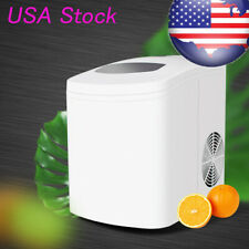 Us Led 110V Portable Ice Maker Machine Countertop 22lbs/24h for Home, Restaurant