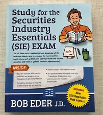 Study for the Securities Industry Essentials (Sie) Exam, Like New