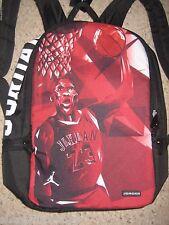 Nike Air Jordan Jumpman Dunk Graphic Laptop Backpack Black Red