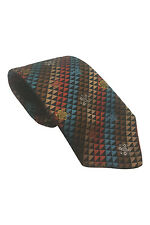 "*VIVIENNE WESTWOOD* GEOMETRIC TRIANGLES SILK TIE (58"")"