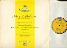 LPM 18234 TULIP LEHMANN beethoven overture leonore iii/coriolan dgg LP PS EX-/VG