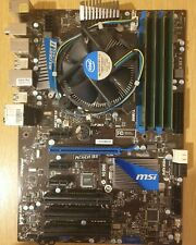 Intel Core i5-2500k 3.3GHz Processor, MSI P67A-C45 (B3) Motherboard and 16Gb RAM