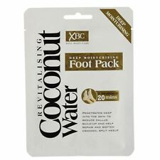 2 Deep Moisturising Revitalising Coconut Water Foot Pack Treatment Skin Callus