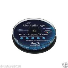DVD MEDIARANGE -R +R Vergini Vuoti Print Stampabili Cake BD BluRay Dual Layer