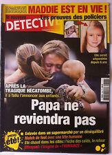DETECTIVE du 10/07/2013; Madie est en vie ! Elle serait séquestrée depuis 6 ans
