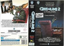 GREMLINS 2 LA NUOVA STIRPE (1990) vhs ex noleggio
