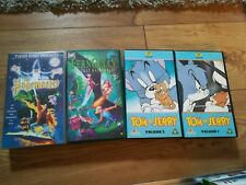 Vhs Childrens The Page Master The Last Rainforest Tom And Jerry