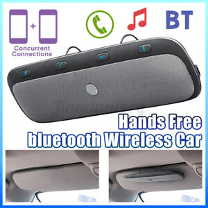 USA bluetooth Auto Car Sun Visor Multipoint Speakerphone Speaker Hands-Free Kit