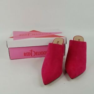 Red Delicious Women's Katina-S Hot-Pink Shoes Size 7 - EUC!!!