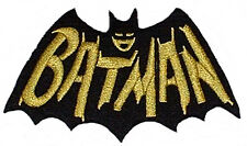 Batman 1960's TV Series Cape and Name Logo Patch