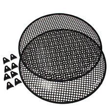 Speaker Grill. 15 inch  Metal Mesh.   ( UK MADE ) Pair