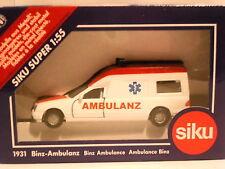 Siku MERCEDES BENZ Binz Ambulanza ambulanz RIF: 1931