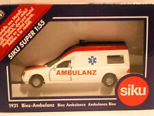 Siku Mercedes Benz Binz ambulance Ambulanz REF: 1931