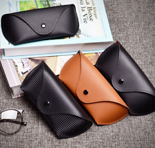 Slim Leather Eyeglass Glasses Soft case Pouch Fit for Ray Ban Oakley Sunglasses