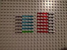 LEGO Star Wars Loose Piece Lightsaber METALLIC HILT 13 Pack Red Blue Green Jedi