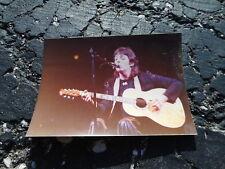 Beatles Paul McCartney w/WINGS Private Snapshot Photo 1976 #17 - Rickenbacker